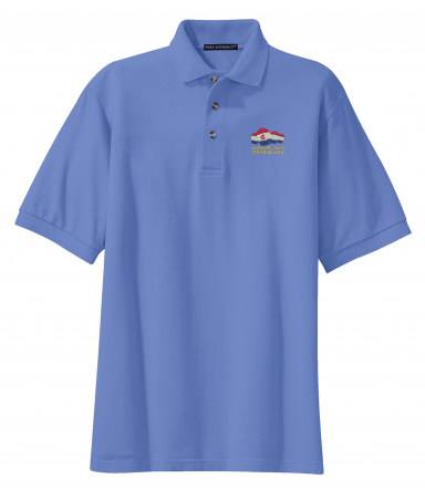 2019 IOD Worlds Men's Heavy Cotton Pique Polo by Port Authority